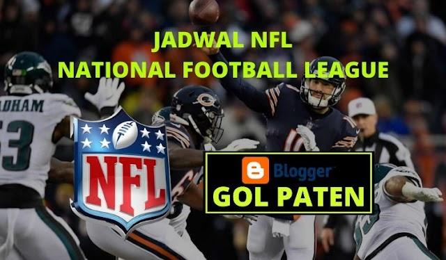 Jadwal Pertandingan Football NFL USA 13 Desember 2019