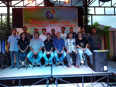 Musda DPD AJO Indonesia Kalteng: Misi AJO Indonesia Bantu Dewan Pers Lakukan Verifikasi Media Online