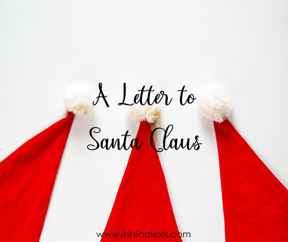 a letter to santa claus