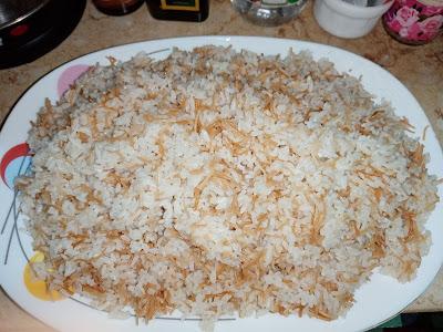 طريقة احلى والذ أرز بالشعريه
