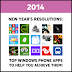 Top Nokia Lumia Apps to Help You Achieve Your New Year's Resolutions!