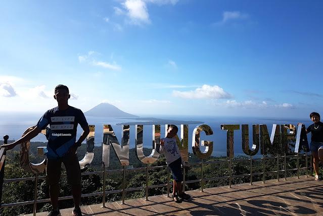 Salah satu spot foto tahura Gunung Tumpa H.V Worang,backlight ©JelajahSuwanto