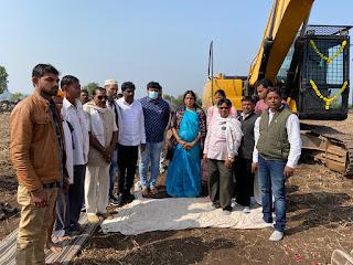 विधायक सुश्री भूरिया ने 73 करोड़ की लागत से निर्मित नर्मदा जल माइक्रो उधवन सिंचाई परियोजना का भूमिपूजन किया