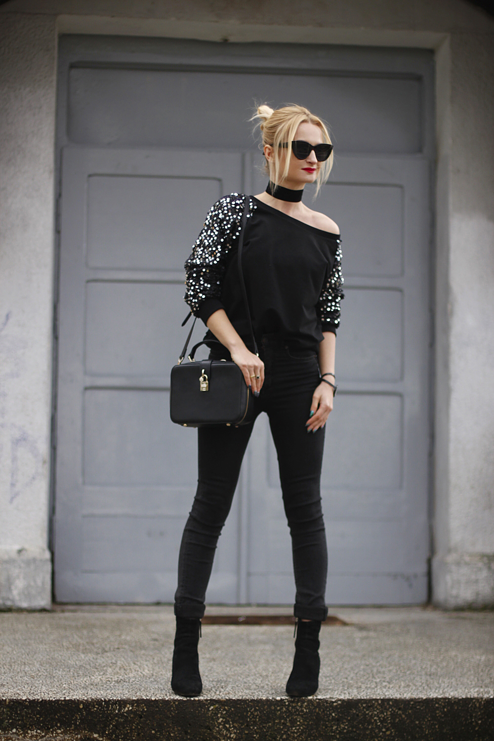 Sequins Sweatshirt