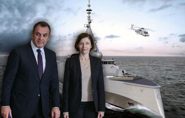 Σε «φουρτούνα» οι νέες φρεγάτες για το Πολεμικό Ναυτικό