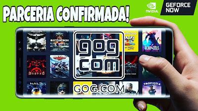 Geforce Now e gog.com