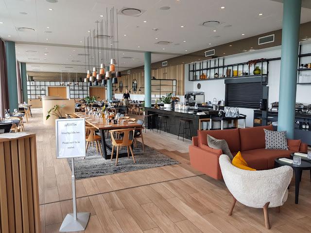 Hotel Hilton Garden Inn-Isole Faroe-Sala colazioni-Ristorante