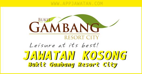Jawatan Kosong di Bukit Gambang Resort City