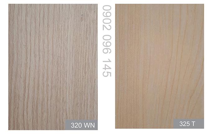Mã màu vân gỗ melamine 325T vân gỗ dẽ gai (beech) được giới trẻ ưa chuộng