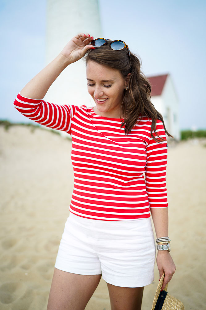 Krista Robertson, Covering the Bases, Travel Blog, NYC Blog, Preppy Blog, Style, Women's Fashion Blog, Fashion, Fashion Blog, Summer Must Haves, Summer Fashion, Nantucket, Cape Cod, Massachusetts, Summer Style, Summer Fashion, Preppy Outfit, Nantucket Style, Nautical Outfits, Nautical Inspired Fashion, July 4th Outfit, Great Point Lighthouse, Beachwear