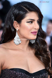 Priyanka Chopra Rocks the Rocketman Screening Cannes ina Sizzling Dark Gown .XYZ Exclusive 04