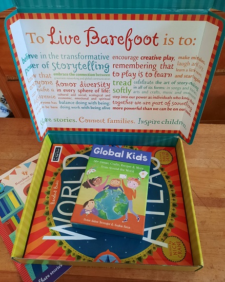 Learn about the Barefoot Books subscription box with this unboxing blog post and product review. What is in a Barefoot Book box? Let's find out!  #kellysclassroomonline