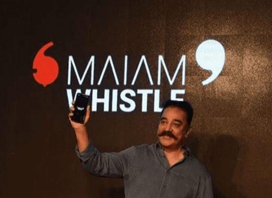 kamal-haasan-launches-maiam-whistle-app