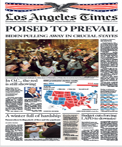 Los Angeles Times Magazine 7 November 2020 | Los Angeles News | Free PDF Download