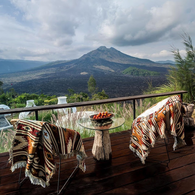 Penginapan Black Lava Gunung Batur Kintamani