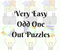 Can you find the different picture? Very Easy Puzzles for Kids