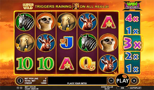 Main Gratis Slot Indonesia - Hot Safari (Pragmatic Play)