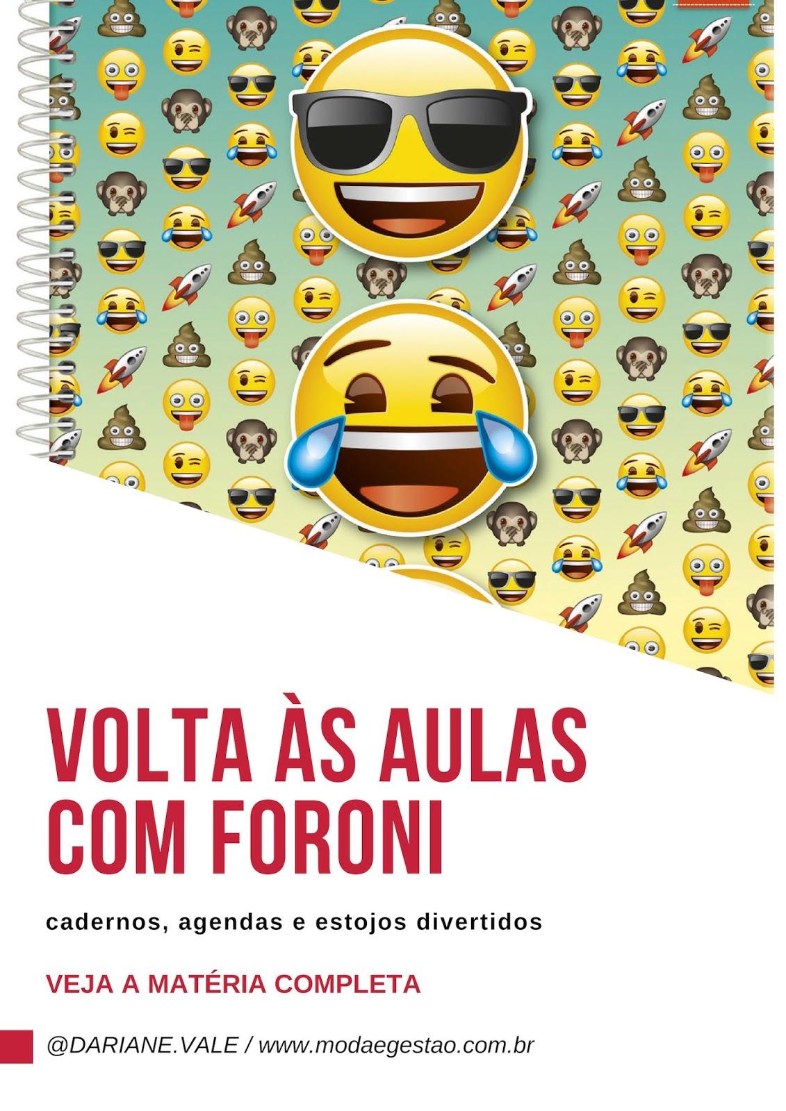 Coleção Volta às Aulas com Foroni: cadernos, agendas e estojos