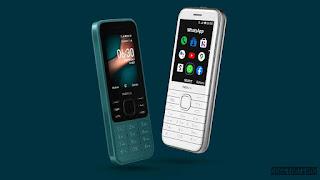 Nokia 8000 4g dan Nokia 6300 4g