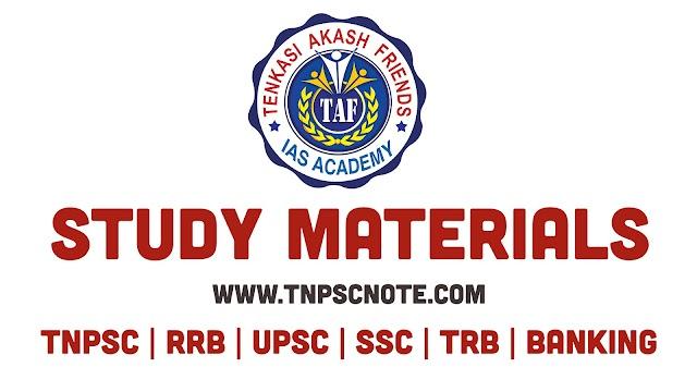 TNPSC தேர்வுகளுக்கு புதிய பாடத்திட்டத்தின்படி Akash IAS Academy வெளியிட்ட  Daily work Sheet for Group I, Group II, and Group IV Aspirants Work Sheet -5