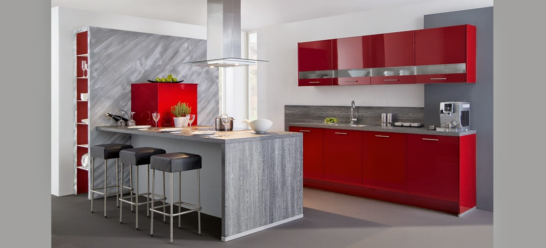 Melamine cocinas reposteros for Muebles modernos para cocina comedor