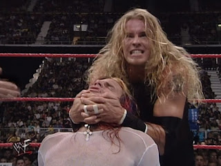 WWF Insurrexion 2000 - Christian puts a hurting on Jeff Hardy