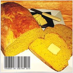 Pão de abóbora moranga fofinho