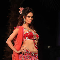 Mallika sherawat curves in bridal dress,