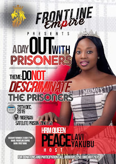 Sokpan Belle Queen To Visit Nigeria Satellite Prison At Zing Local Government Area | Jeremy Spell Blog