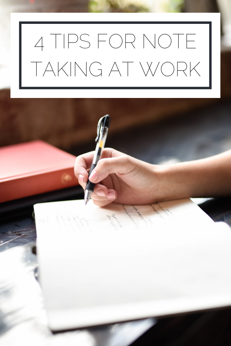 Click to read now or pin to save for later! Check out how you can take better notes at work