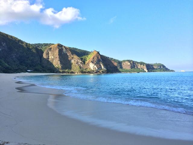 Cibang Cove in Calayan island