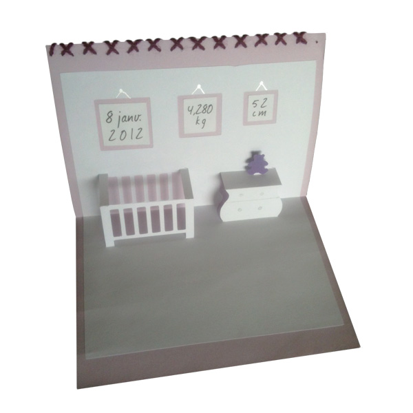 faire part naissance pop up bocaline. Black Bedroom Furniture Sets. Home Design Ideas