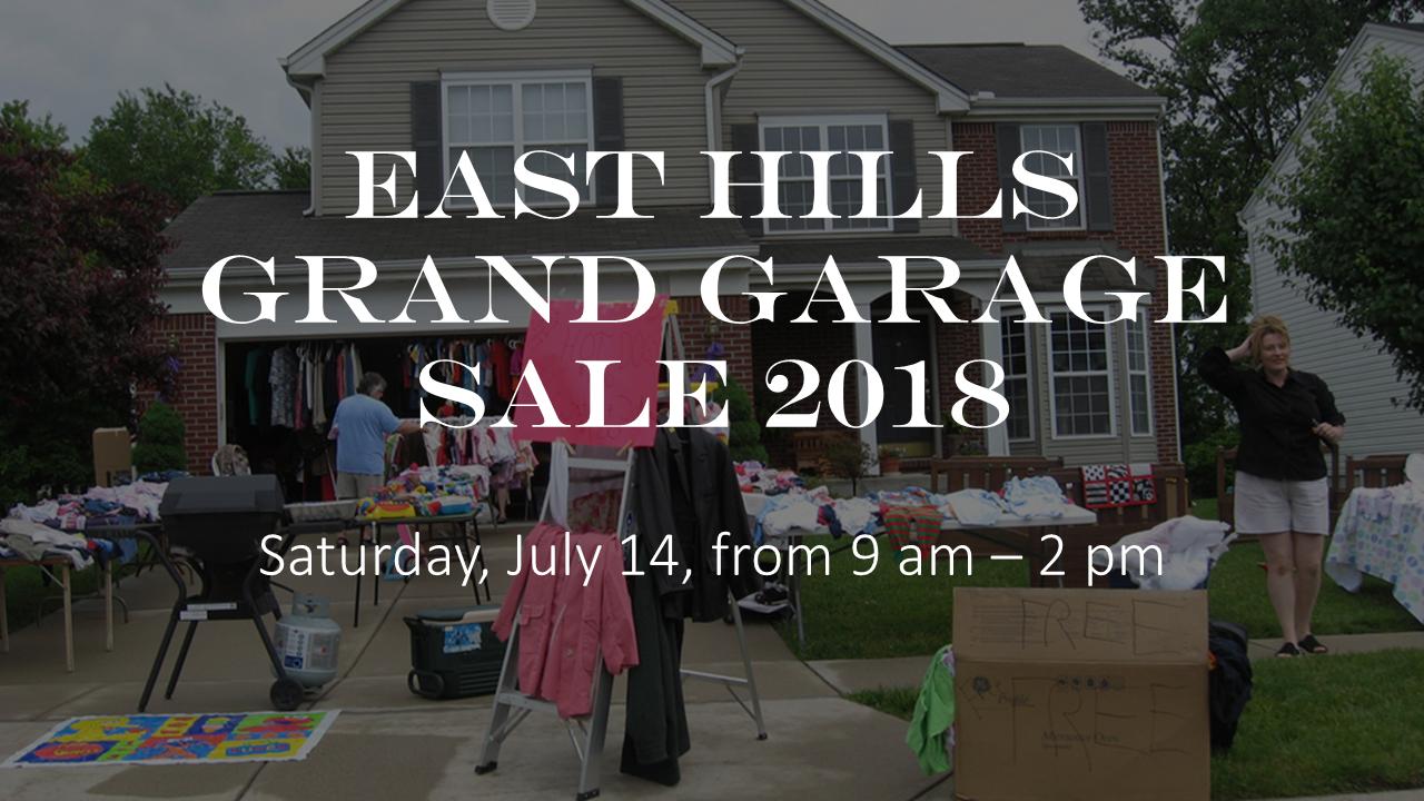 east hills grand garage sale 2018 saturday july 14 9 2 pm