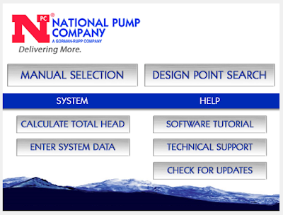 Download National Pump Selector Software