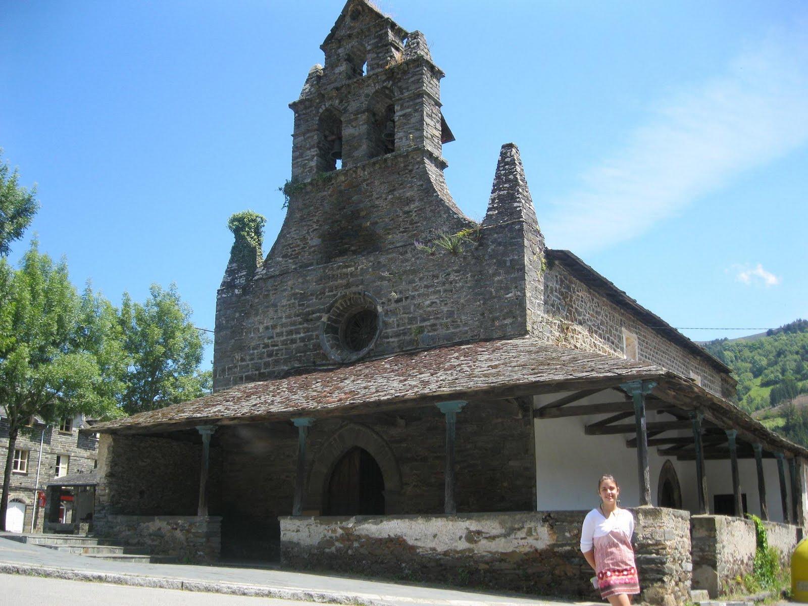 Resultado de imagen de Iglesia de Santa María (San Antolín de Ibias)