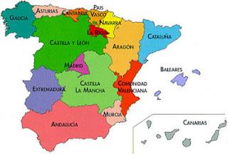 autonomías en España