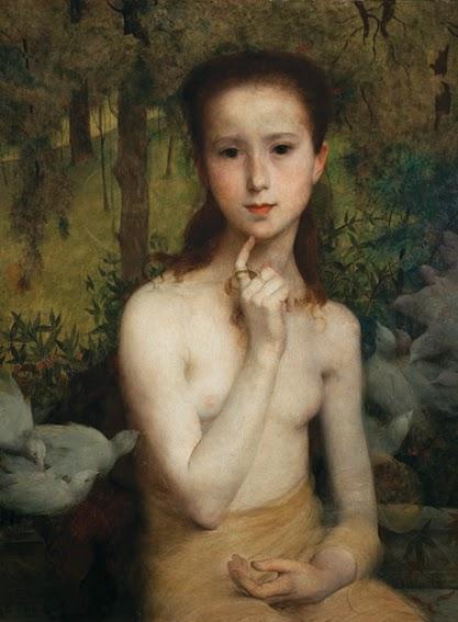 Gioventú - Eliseu Visconti -  O mais importante artista plástico brasileiro da primeira década do século XX
