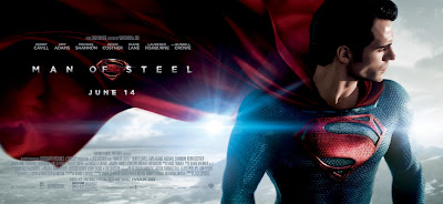 Superman Man of Steel Theatrical Movie Banner