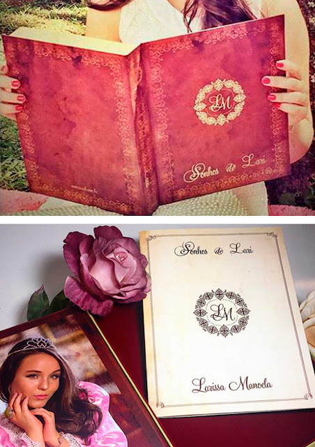 Convite debutante livro, Larissa Manoela
