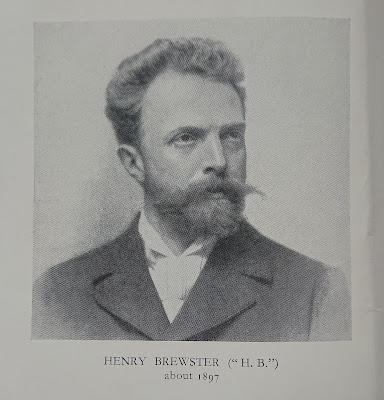 Henry Brewster (HB) in 1897