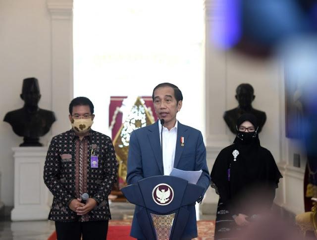 COVID-19 Belum Berakhir, Presiden Jokowi Ajak Masyarakat Tetap Disiplin Jalankan Protokol Kesehatan
