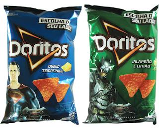 promoção Doritos batman superman