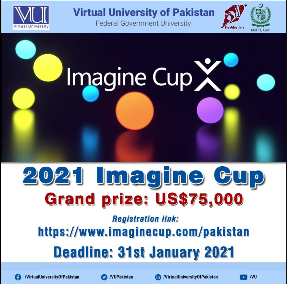 Imagine Cup Organized By HEC & Microsoft