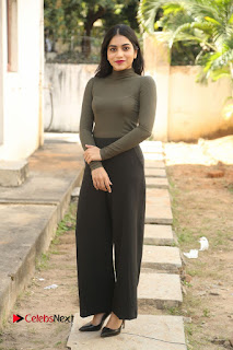 Tollywood Actress Punarnavi Bhupalam Latest Po Gallery in Black Trouser Pant at Pittagoda Movie Interview  0128.JPG