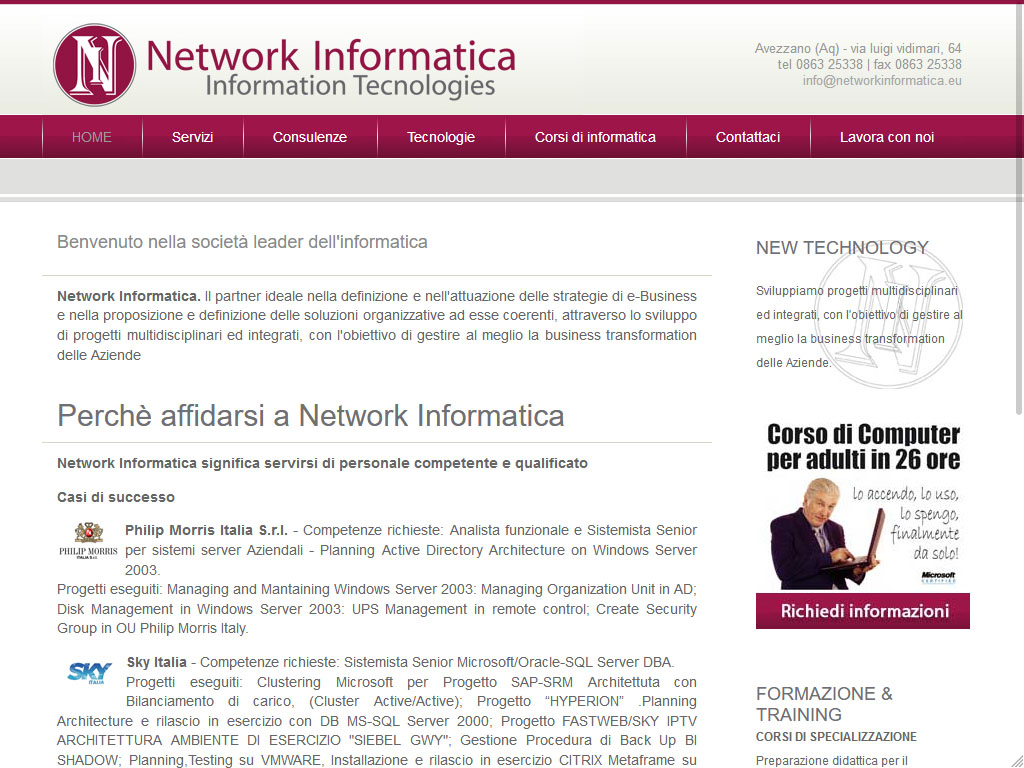 Network Informatica
