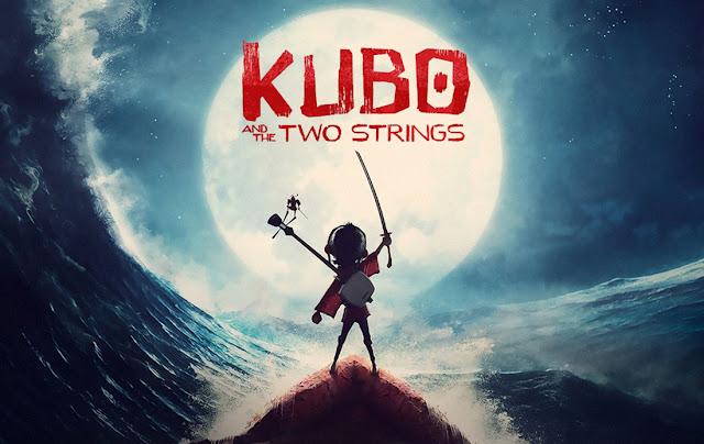 Imagen promocional de la película Kubo y las 2 cuerdas mágicas, Kubo and the two Strings