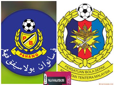 Live Streaming Pahang vs ATM Piala FA Malaysia 4 Mac 2018