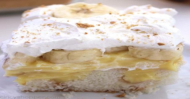 Banana Pudding Poke Cake Recipe