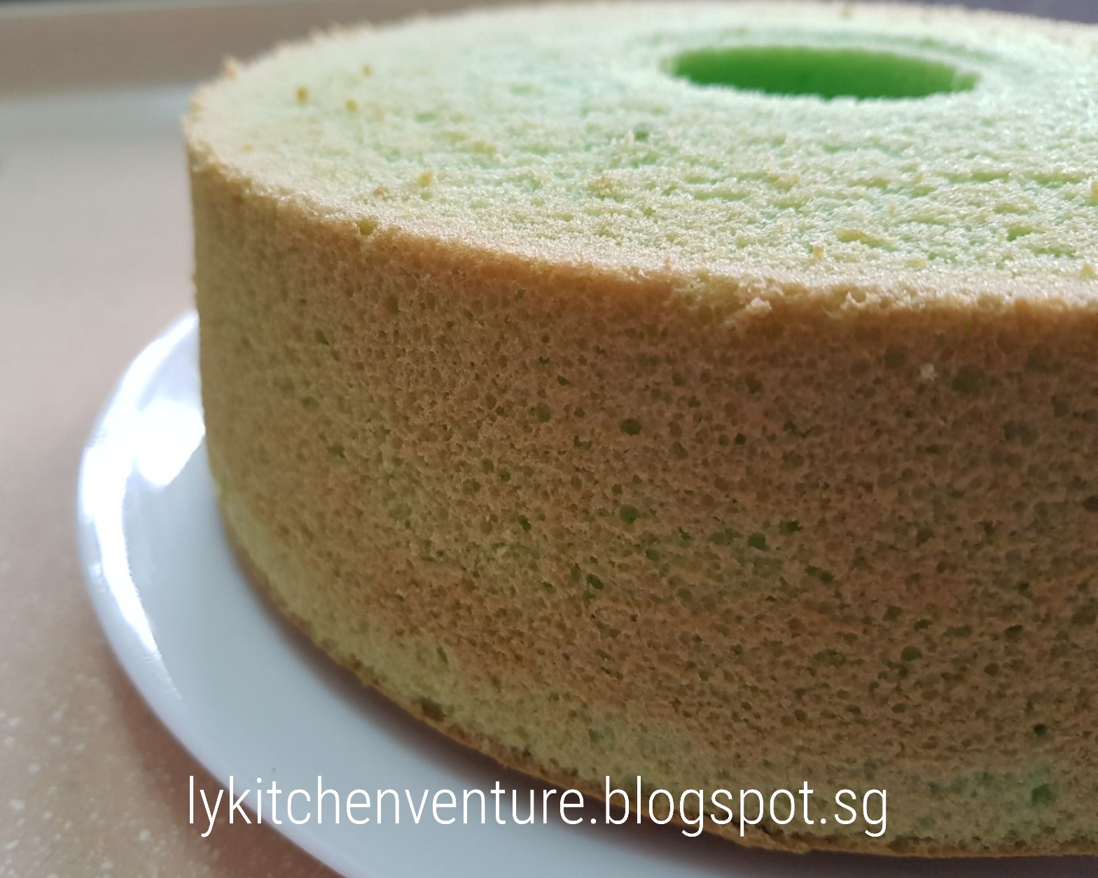 Lemon Chiffon Cake Singapore