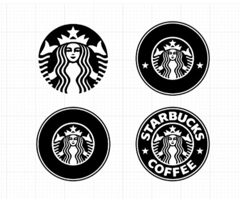 Free Starbucks Inspired Coffee Ring Svgs